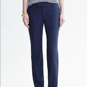 BR Navy Blue Martin Fit Pant  NWT